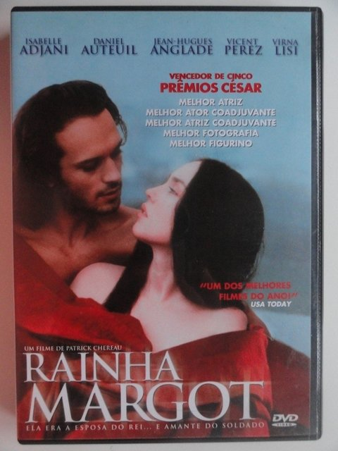 Dvd  Rainha Margot - novo