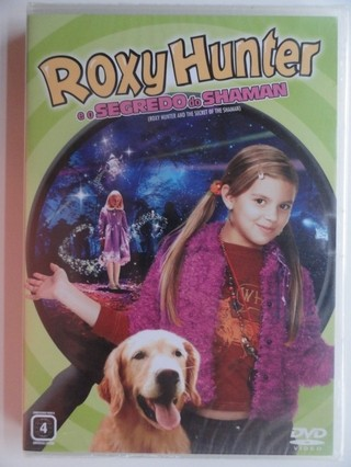 Dvd - Roxy Hunter e o Segredo Do Shaman - Aria Wallace - Infantil