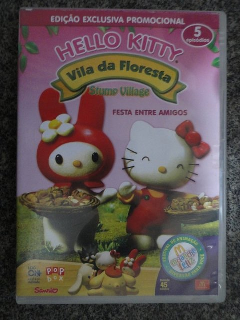 Dvd  Hello Kitty - Vila da Floresta - Festa entre amigos - original