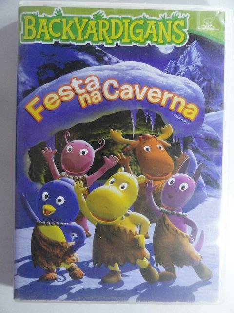 Dvd  Backyardigans  Festa na caverna - original