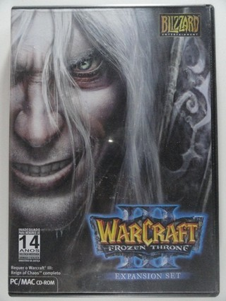 Warcraft III 3 Frozen Throne - Expansion Set  - Jogo P/ Pc Novo Original C/ Manual