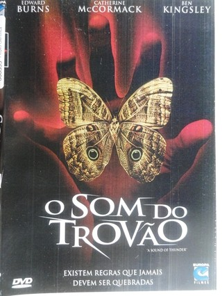 Dvd - O som do trovão -  Edward Burns - Original - comprar online