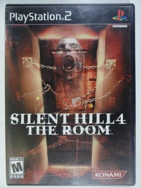 Silent Hill 4 The Room - Jogo para PlayStation 2 - Ps2 - Original Importado Completo - Terror - Konami
