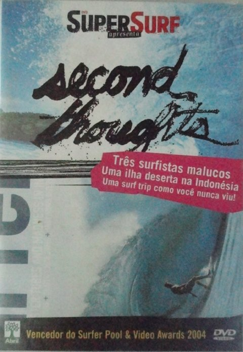 Dvd Super Surf Second troughts - original