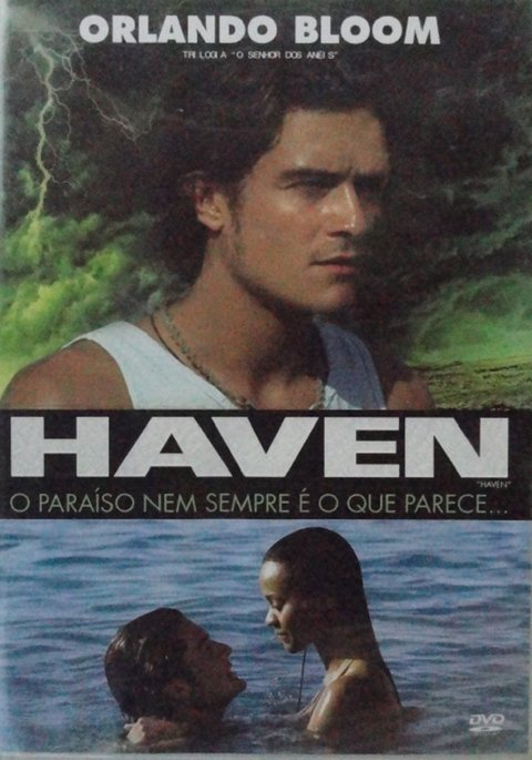 Dvd Haven o paraíso nem sempre é o que parece - Orlando Bloom -- Novo