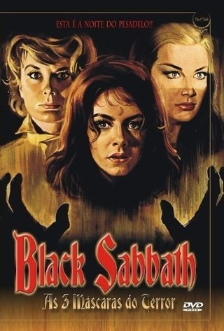 Dvd Black Sabbath as 3 máscaras do terror