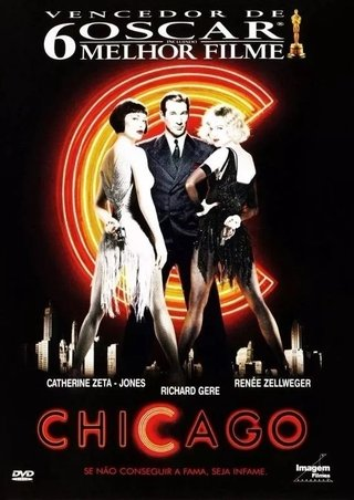 Dvd Chicago - Richard Gere - Novo