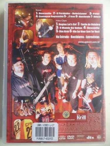 Dvd - Cpm 22 - O Vídeo ( 1995-2003 )