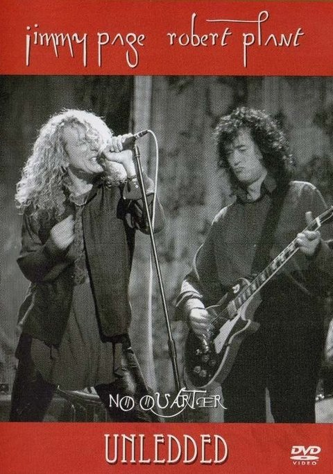 Dvd No quarter Jimmy Page Robert Plant - Novo