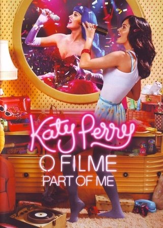 Dvd - Katy Perry O Filme - Part Of Me - Novo
