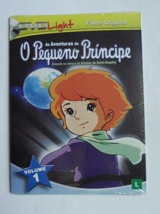 Dvd As aventuras do Pequeno Príncipe vol 1 - Novo