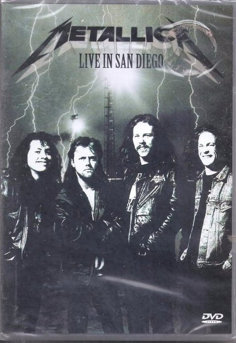 Dvd Metallic live in San Diego -  Novo