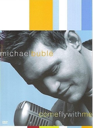 Dvd Michael Buble - Come fly with me - Dvd + Cd - Original