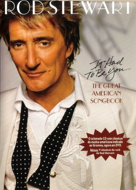 Dvd Rod Stewart It had to be you - Novo
