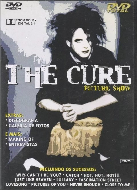 Dvd The Cure - Picture Show -- Novo