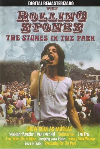 Dvd  Rolling Stones  The Stones In The Park - novo