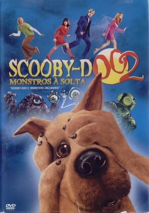 Dvd Scooby-doo 2 Monstros a solta - Original