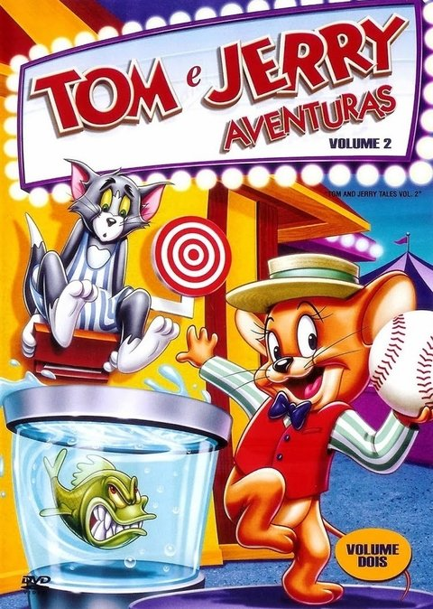 Dvd Tom e Jerry Aventuras vol. 2 - original