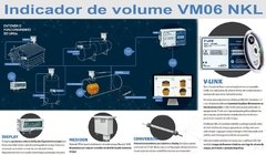 VM06 NKL - Indicador de Volume Digital para Tanques