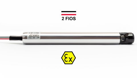PT02 NKL 220mm 2 Fios - Sensor Óptico Overfill Bottom Loading