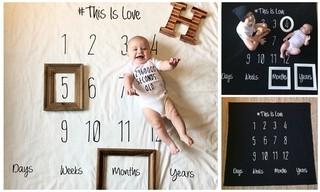 Acessório para foto de bebê
