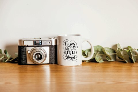 Caneca enjoy the little things - comprar online