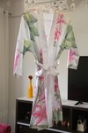 Robe floral estampado
