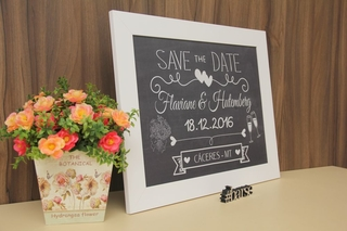 Quadro Save the Date