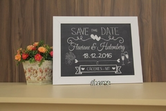 Quadro Save the Date - comprar online