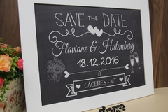 Quadro Save the Date - Barse