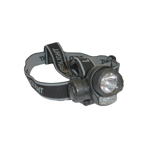 Linterna frontal Spinit 3 + 1 LED