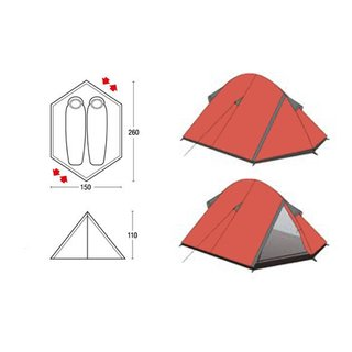 Carpa Northland Travel 2P - comprar online