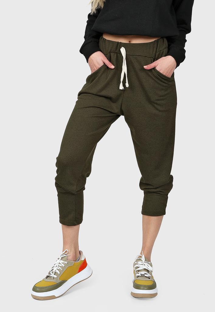 Jogger Mujer Lanilla Verde Militar Chelsea Market