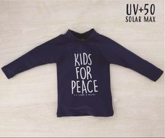Remera surf kids for peace UV