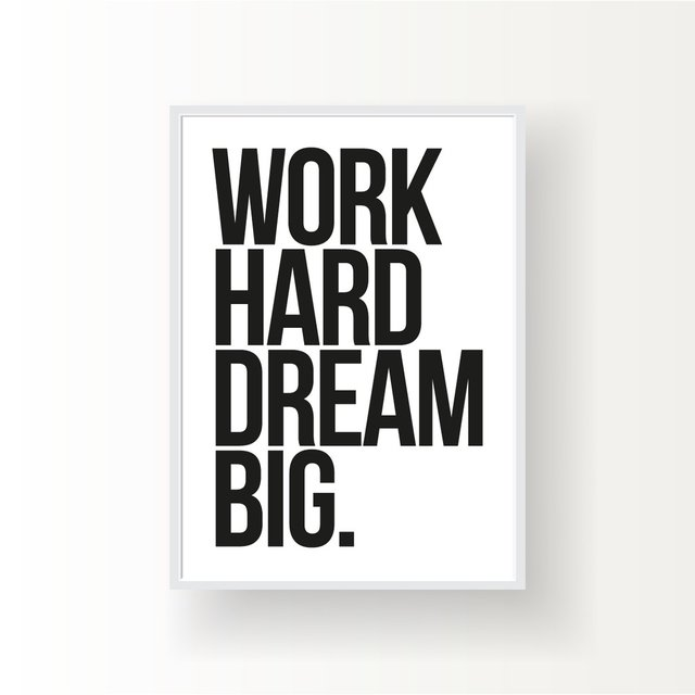 WORK HARD DREAM BIG - comprar online