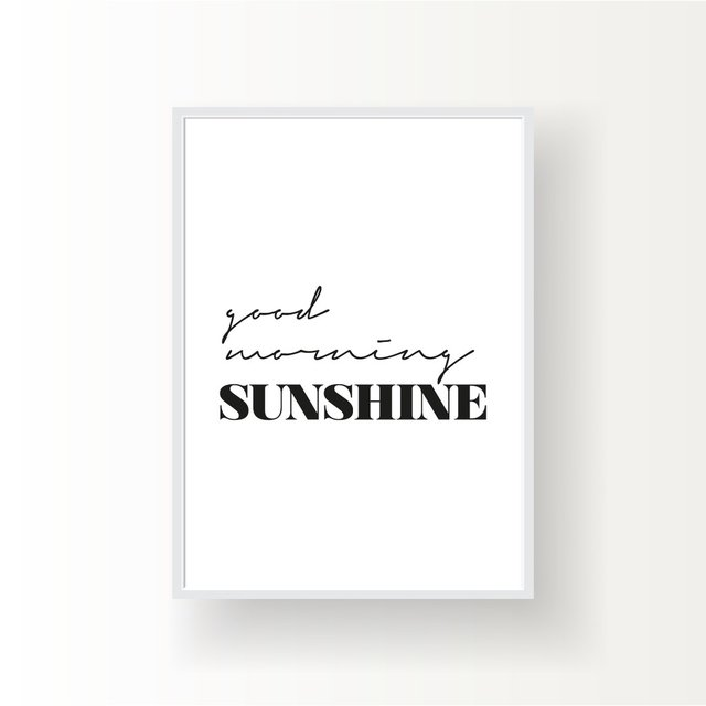 GOOD MORNING SUNSHINE - comprar online