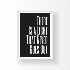 THERE IS A LIGHT THAT NEVER GOES OUT - comprar online