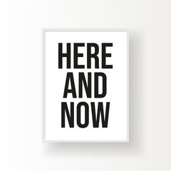 HERE AND NOW - comprar online