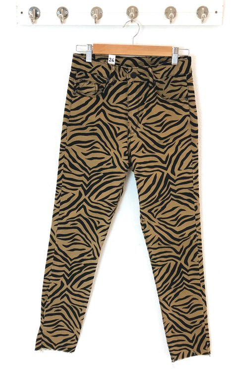 PANTALON HIGH EMMA ZEBRA