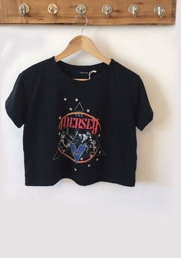 REMERA MUSIC MERSEY CROPPED