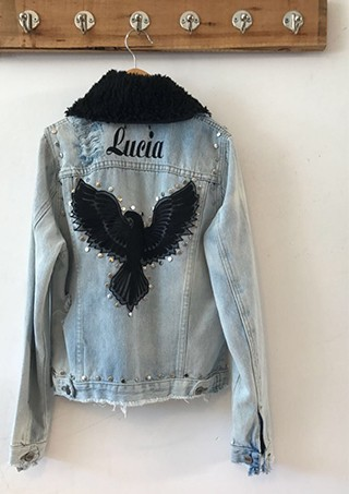 JACKET DENIM ÁGILA