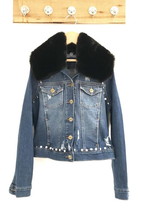 Jacket denim gigi peace