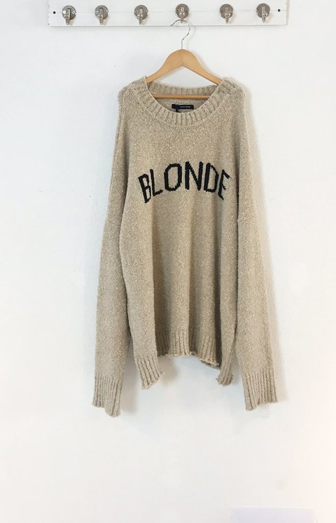 SWEATER BLONDE