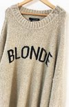 SWEATER BLONDE en internet