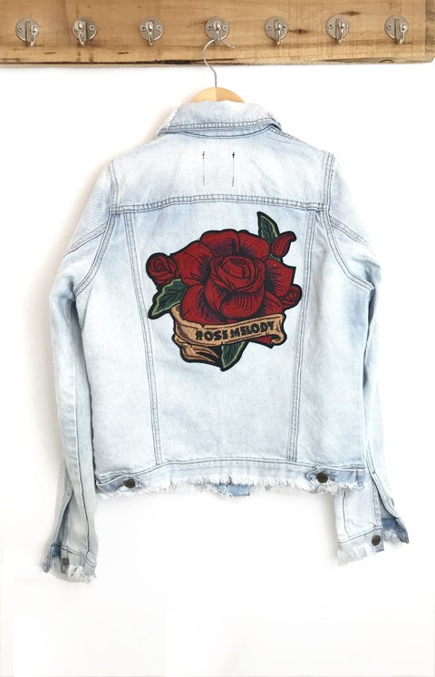 JACKET DENIM ROSE MELODY