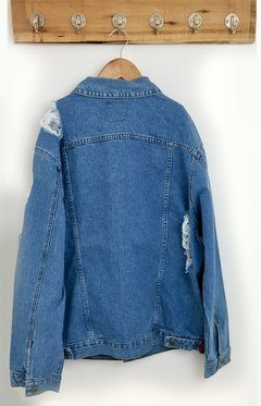 JACKET DENIM BIG DESTROYER - comprar online