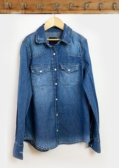 SHIRT DENIM BASIC