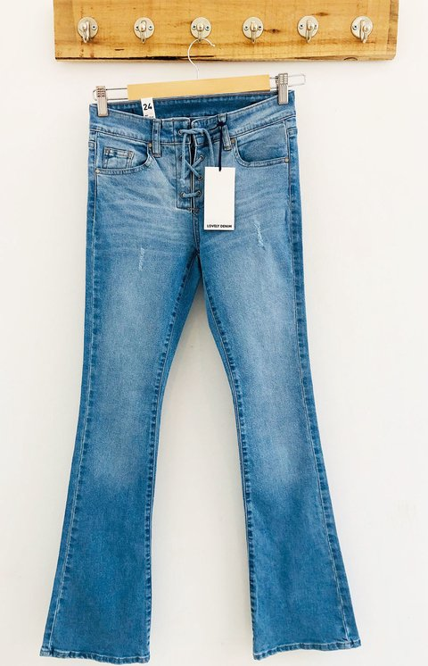 PANTALON FAWCET OJALILLOS LIGHT BLUE