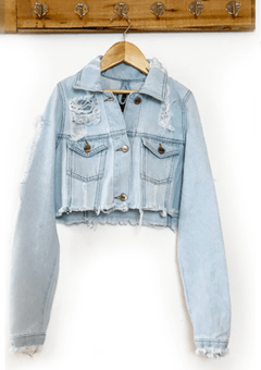 JACKET DENIM CORTA - comprar online