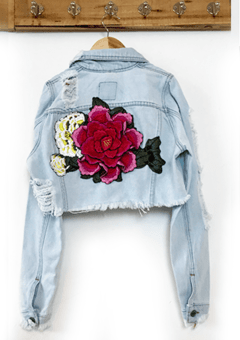 JACKET DENIM CORTA